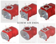 VMC is a global leader in screw air-end production